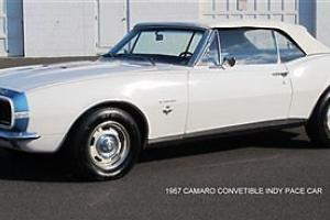 67 SS Indy Pace Car 2 dr Convertible 350 V8 White