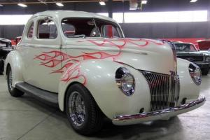 40 Ford Steel Coupe Street Rod Custom Gorgeous Show Car