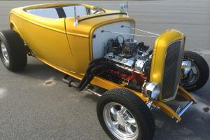 1932 Ford Highboy Roadster House of Kolors Spanish Gold