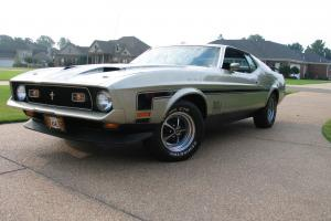 1971 FORD MUSTANG (M-CODE) MACH 1