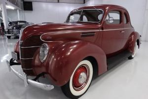 1939 FORD 5-WINDOW COUPE RUNS, RUNS AND DRIVES BEAUTIFULLY!