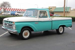 1965 Ford F100 Short Box Pickup  81,000 Actual Miles