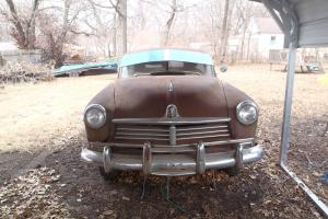 1949 hudson super six Brougham  rat rod street rod Barn find