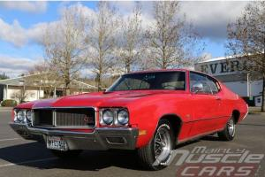 1970 Buick GS 455, Numbers Matching 455, Factory Matador Red 2-Owner Car