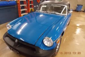 1977 MG MGB T1236348 Photo