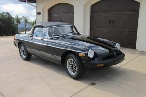 MGB LE LIMITED EDITION - CALIFORNIA CAR - SEMI-RESTORATION PROJECT + HARD TOP Photo