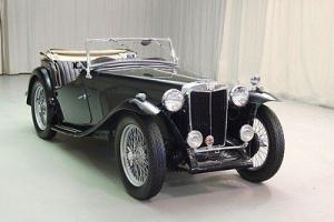 Rare 1949 MG TC EXU export model - 1 of 493 - Great looking British convertible