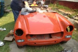 1972 MG Midget project car-engine runs!