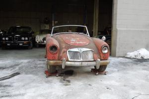 1959 MG A 1500 Roadster for Complete Restoration or Parts
