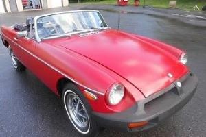 1975 Red Drives Nicely Body & Interior Good Summer Fun!!