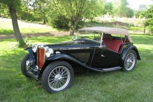 MG: MG-TC 1948 Roadster Photo