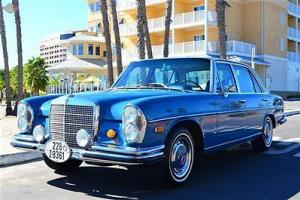 '69 300 SEL 6.3, very clean, books, tools, records