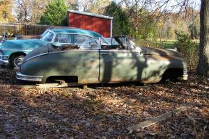 48 PACKARD CONVERTIBLE CUSTOM CLASSIC STREET ROD HOT ROD BUILDER RAT ROD PROJECT