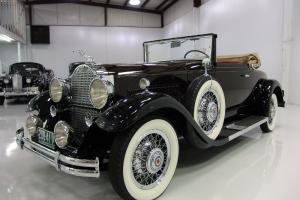 1931 PACKARD 833 SERIES CONVERTIBLE COUPE, PRISTINE FRAME OFF RESTORED!