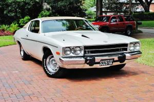 Fully documented 4 speed 1974 Plymouth Roadrunner real 43,868 miles all original