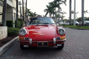 1969 PORSCHE 911 T TARGA. SIGNAL ORANGE. DOCUMENTED SECOND OWNER. SUPERB CAR!!!