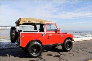 "1970 LAND ROVER SERIES IIa ""RE-ENGINEERED, STREET, BEACH OR OFF-ROAD CAPABLE""!!!"