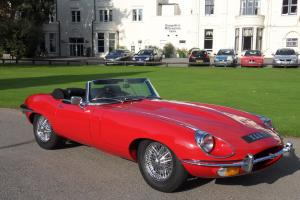 Jaguar E-Type Roadster 4.2 1970 3 owners full nut and bolt restoration