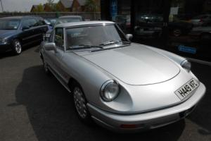 Alfa Romeo Spider S4 1991 convertable with hardtop