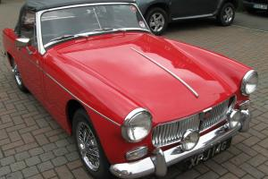 Classic 1969 MG Midget Mk III Photo