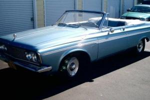 1963 Plymouth Fury Convertible, Max Wedge clone Photo