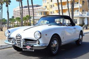 1300 Guilietta Spider Normale 1300, 5 speed, restored, very clean example