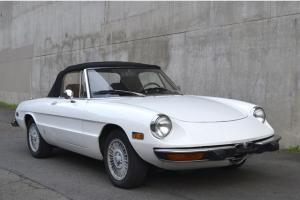 1974 Alfa Romeo Spider Veloce-New Top. Professional Alfa Mechanic Owned.