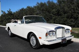 BENTLEY CONTINENTAL 1989 CONVERTIBLE