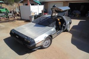 1981 Delorean DMC company car
