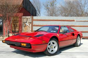 1985 Ferrari 308 GTSi Quattrovalvole, Red / Tan, Well Serviced, Service Records