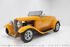 1932 Ford Roadster Hot Rod - TCI Chassis, Heritage Body, 351 CI V8, C4-Automatic