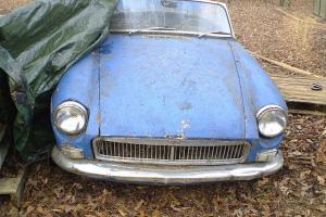 1964 MGB & ANOTHER 64 MGB FOR PARTS OR RESTORE BOTH-COLLECTOR- BARN FINDS