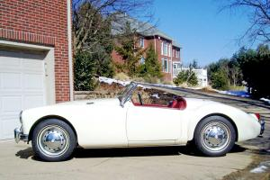 1958 MGA Very Beautiful Driver Odometer reads low miles 30,073