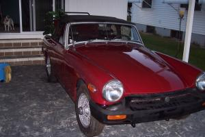 1976 MG Midget Convertible New Paint Runs & Looks Great No Reserve Located in FL