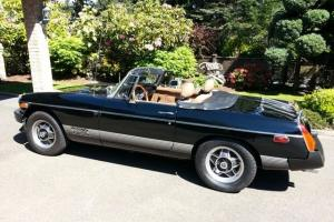 1980 Black MG MGB Convertible Sports Car, CLASSIC MG's Mint condition