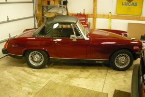1975 MG Midget (Maroon) Photo