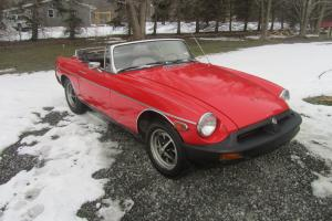 1978 MG MGB Roadster Convertible runs great easy project NO RESERVE .01 START!! Photo