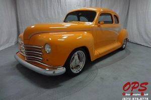1947 Plymouth Special Deluxe - 14K Mi, Chevy 350 crate, Custom Paint!