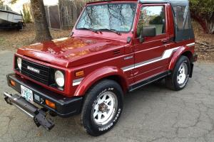 (((((( 1987 Suzuki Samurai Jx 4x4 ))))))    2nd Owner - 100% Rust Free Original