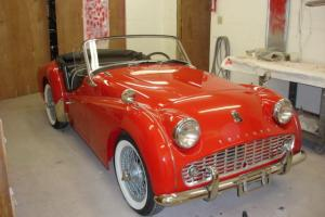 1961 Triumph TR3A Roadster 2.0L Nut & Bolt Restoration No Reserve