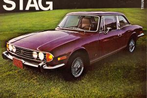 1972 Triumph Stag - Vintage - Preservation Car, Barnfind Photo