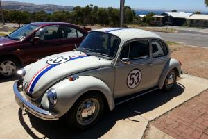 Herbie Volkswagen 1600 Super BUG L 1973 2D Sedan 4 SP Manual 1 6L Carb in Port Lincoln, SA