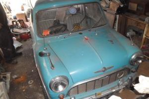 MORRIS MINI MINOR 38K MILES RESTORATION PROJECT GARAGE BARN FIND