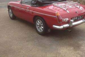classic cars MGB roadster Photo