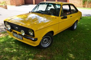 Ford Escort 1600 Sport 1981 Photo
