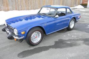1976 TRIUMPH TR6 RARE ORIGINAL 26,000 MILE SURVIVOR Photo