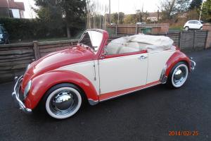 VW Beetle Convertible, Ex show car,cover car, 1971, stunning, barn find, kitcar