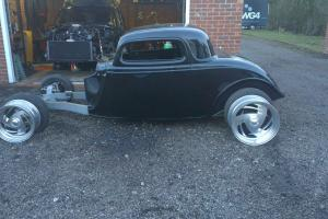 34 THREE WINDOW COUPE HOTROD SHOW CAR RACE CAR CUSTOM CAR