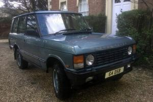 Range Rover Classic Vogue SEA - rare low mileage good colours very desirable