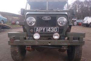 LAND ROVER LIGHTWEIGHT 1969 Series 2a TAX EXEMPT